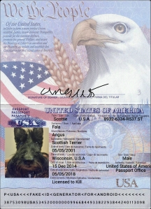 Angus Passport