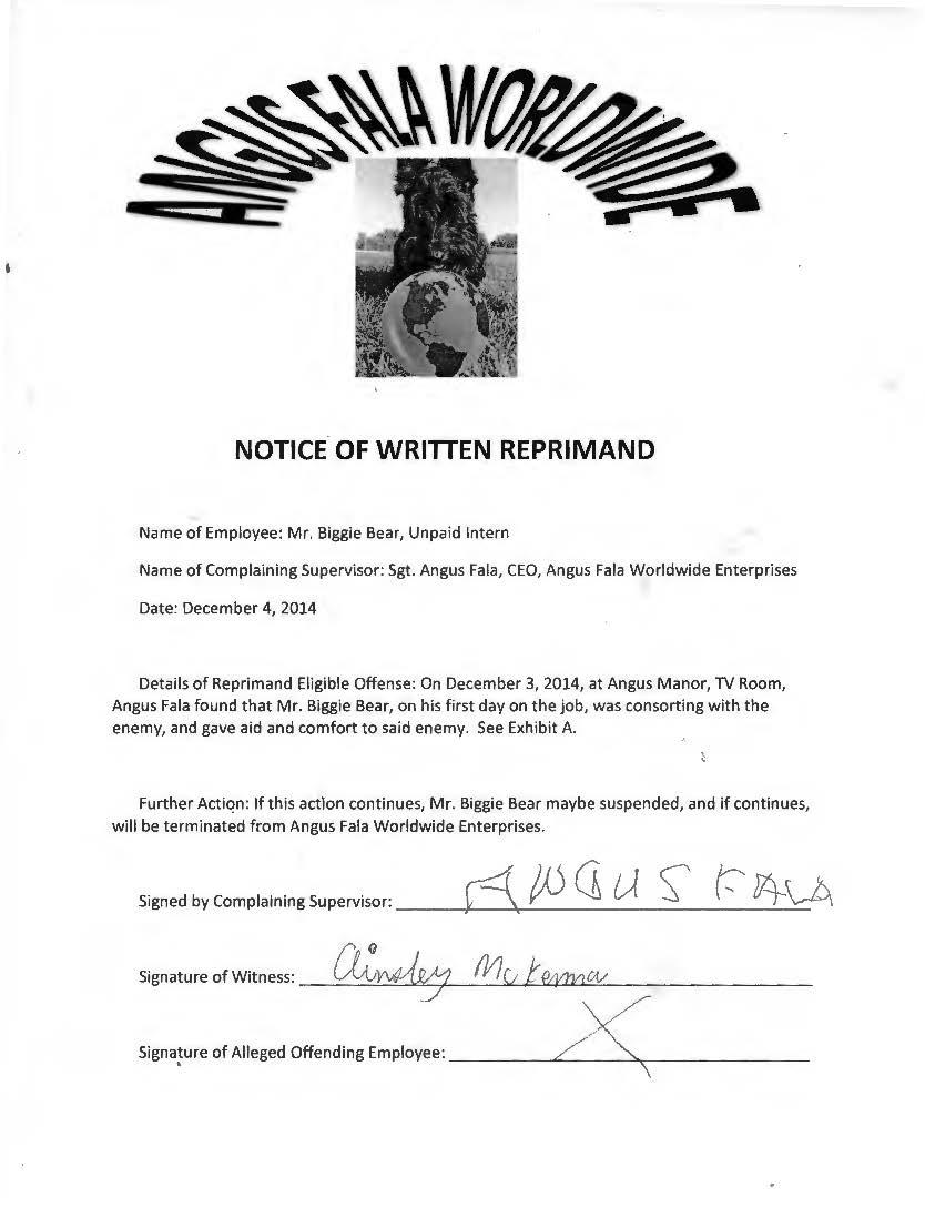 Reprimand 2